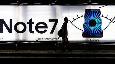 Samsung revisa a la baja su previsión de crecimiento tras anunciar que dejará de fabricar el Galaxy Note 7