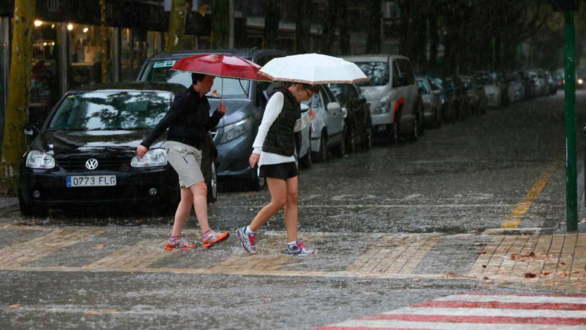 Llegan las lluvias a toda la península tras las primeras semanas de otoño