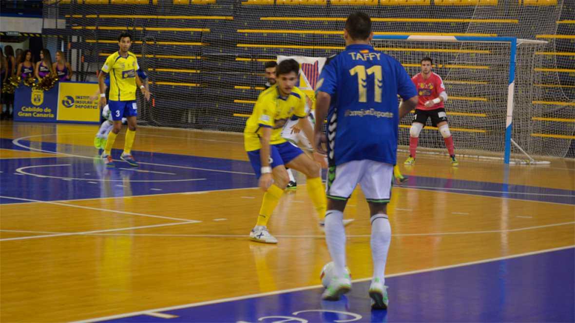 El Movistar Inter ha empezado a toda velocidad la liga con un contundente 0-5 en casa del Gran Canaria, con doblete de Ricardinho incluido.