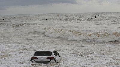 Muere un hombre que fue arrastrado por el agua en Vilassar de Mar