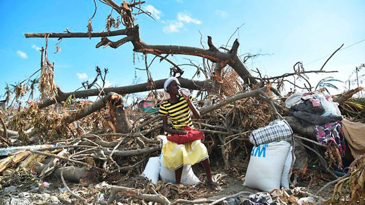 Haití sigue luchando por recuperarse del huracán Matthew
