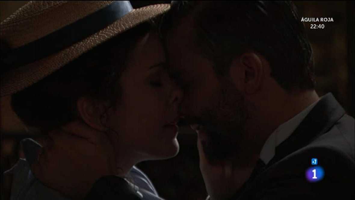 ¡Lolita descubre a Felipe y Huertas besándose!
