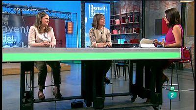 La Aventura del Saber. TVE. Lourdes Bazarra y Olga Casanova. 'La escuela ya no es el lugar'.