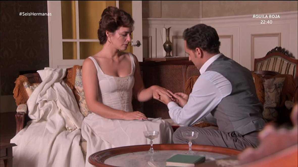 Gabriel le pide matrimonio a Soledad
