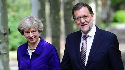 Rajoy y May analizan el 'Brexit' en una agenda en la que no estaba Gibraltar