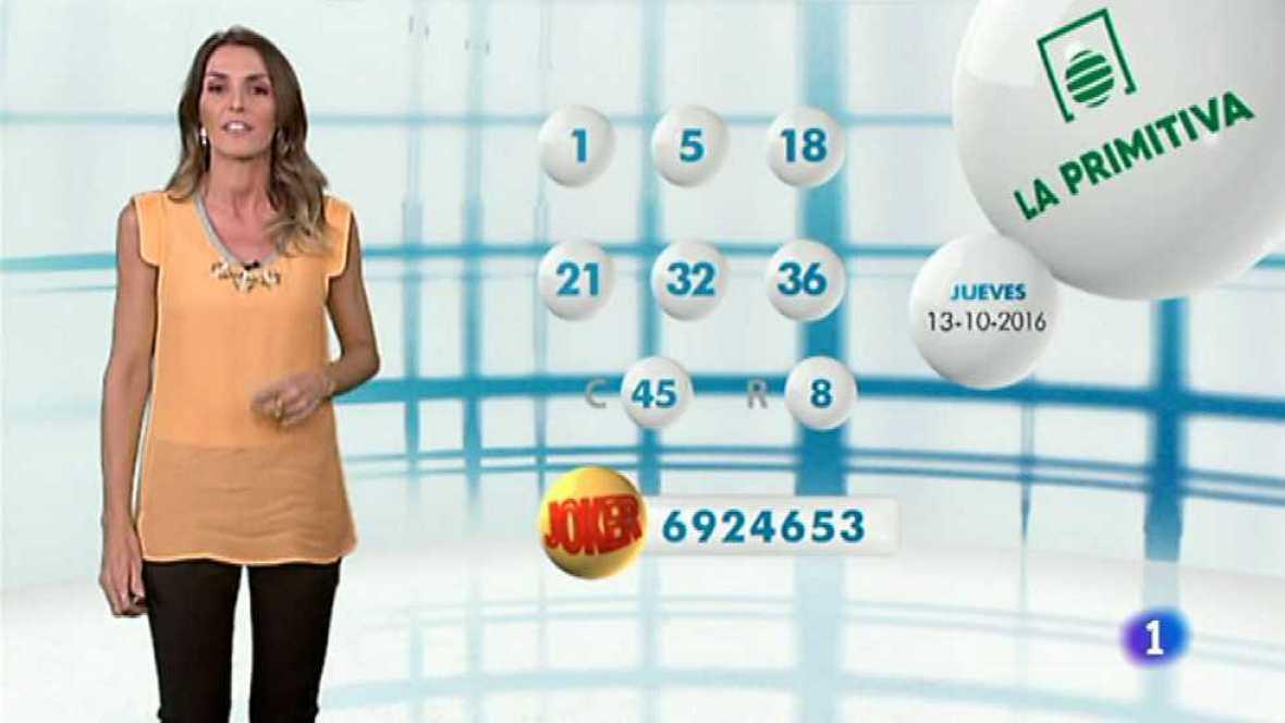 Lotería Nacional + La Primitiva + Bonoloto - 13/10/16 - ver ahora