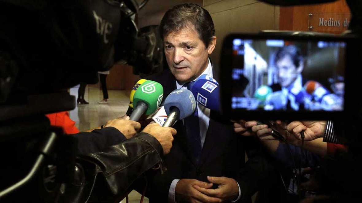 Javier Fernández admite que el juicio de Gürtel se colará en el debate interno del PSOE