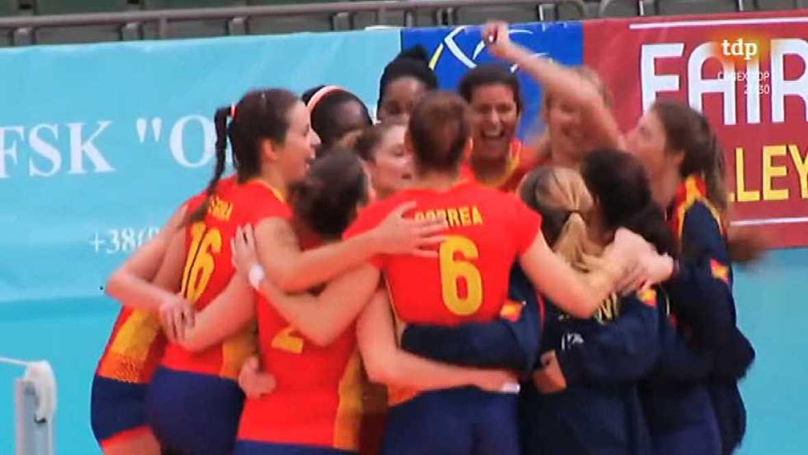 Voleibol - Torneo Clasificación Campeonato de Europa 3ª Ronda Vuelta - ver ahora