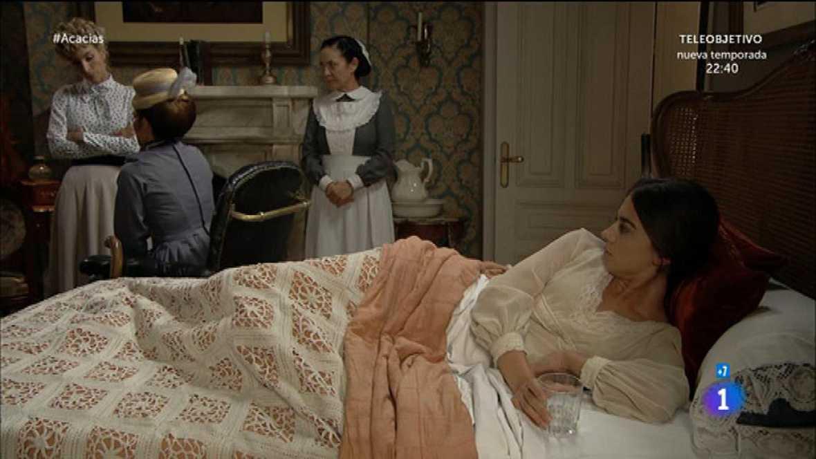Teresa sigue el consejo de Mauro y no se fía ni de su sombra