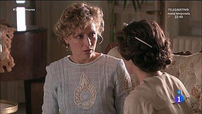 Celia le cuenta a Diana que ella y Aurora est�n huyendo de la c�rcel