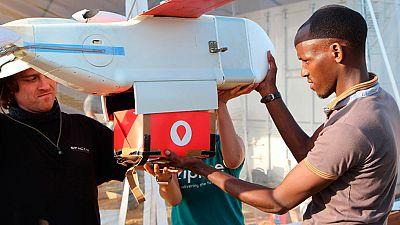 Ruanda lanza el primer sistema de reparto de sangre y medicamentos con drones