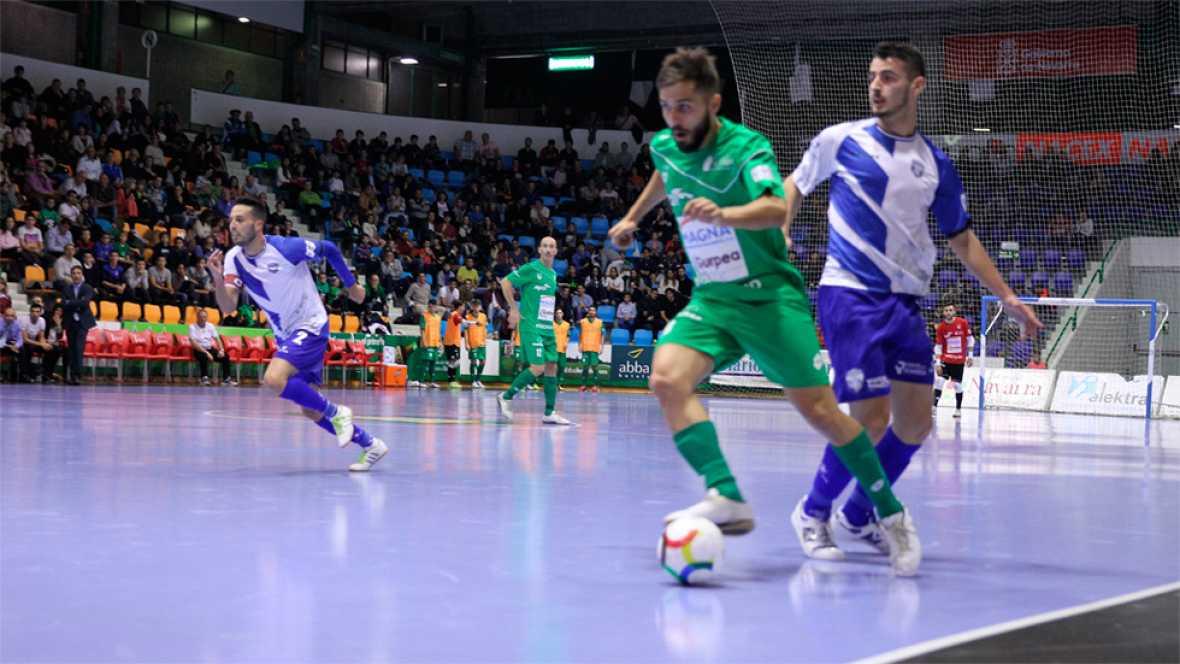 El Magna Gurpea se impuso con contundencia al Jumilla, al que goleó por 4-1.