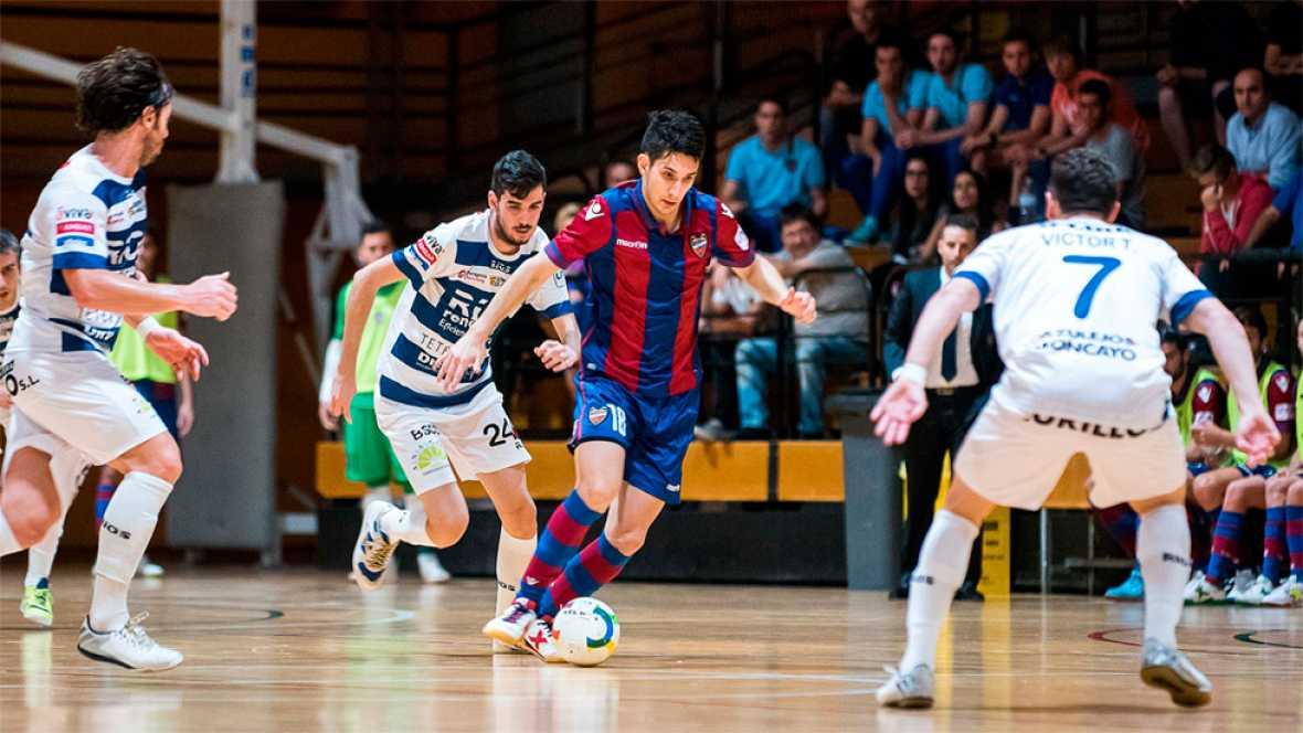 El Levante empató 3-3 en casa ante el Ríos Renovables, en un partido en el que se adelantó 2-0 en los siete primeros minutos.