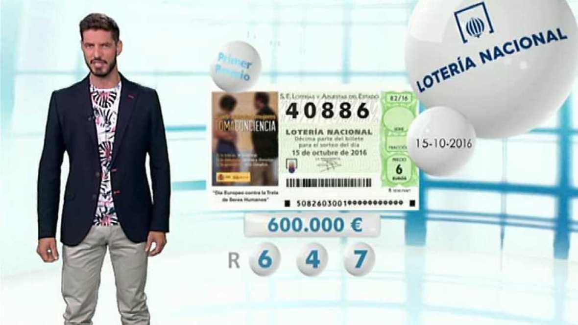 Lotería Nacional - 15/10/16 - ver ahora