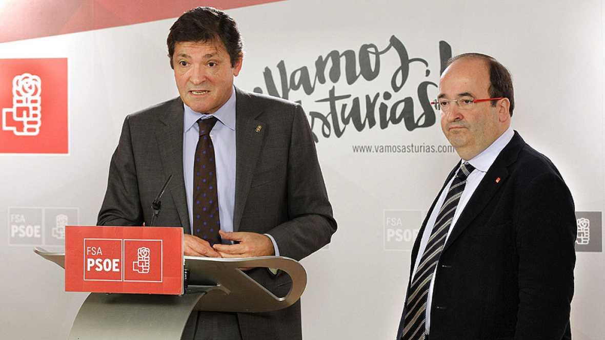 La gestora del PSOE tratará con Iceta las discrepancias sobre el voto a Rajoy