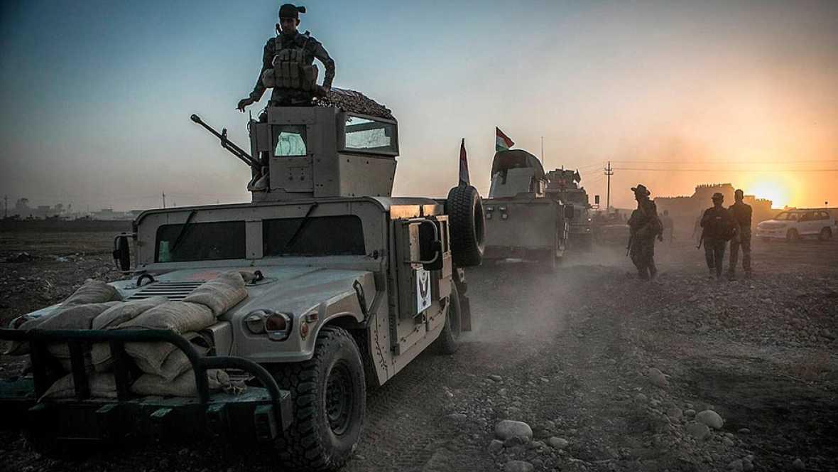 Irak lanza la ofensiva final para recuperar Mosul, bastión del Estado Islámico
