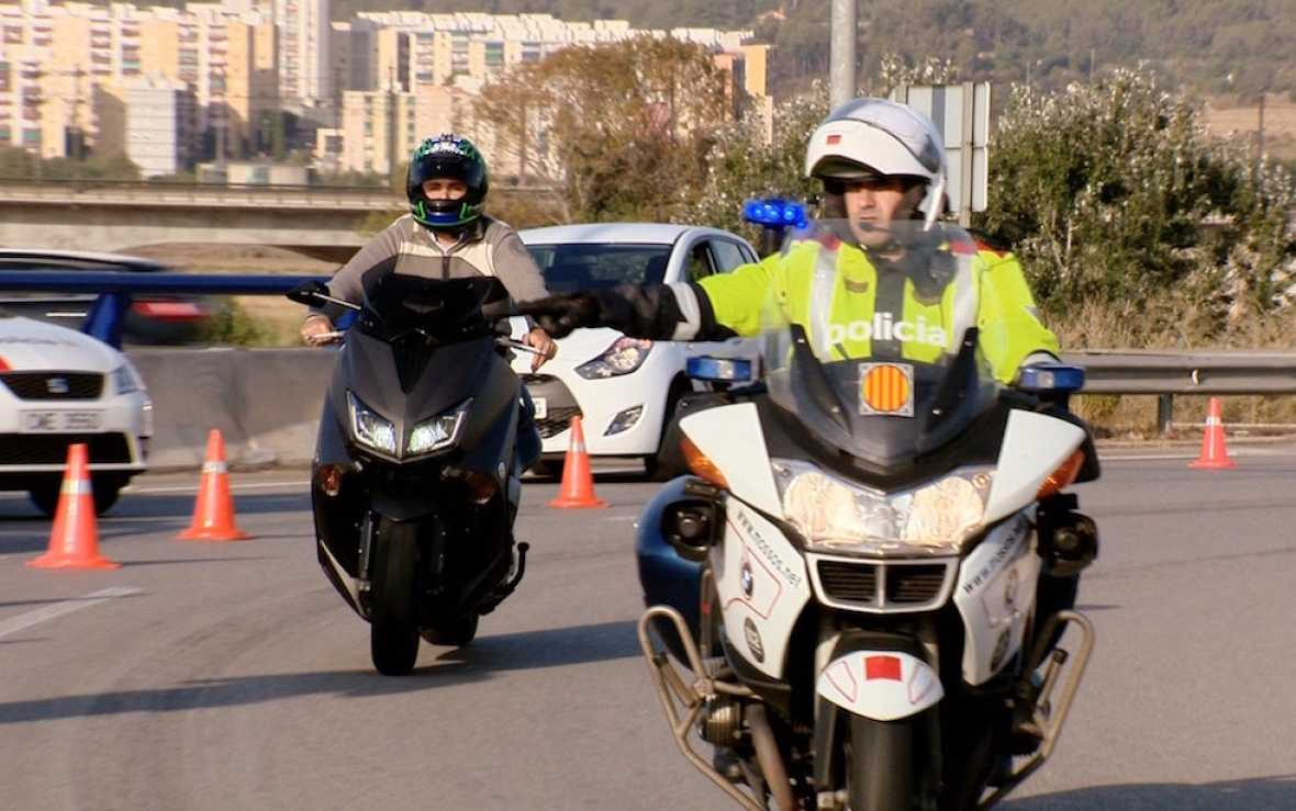 Campaña de concienciación a motoristas