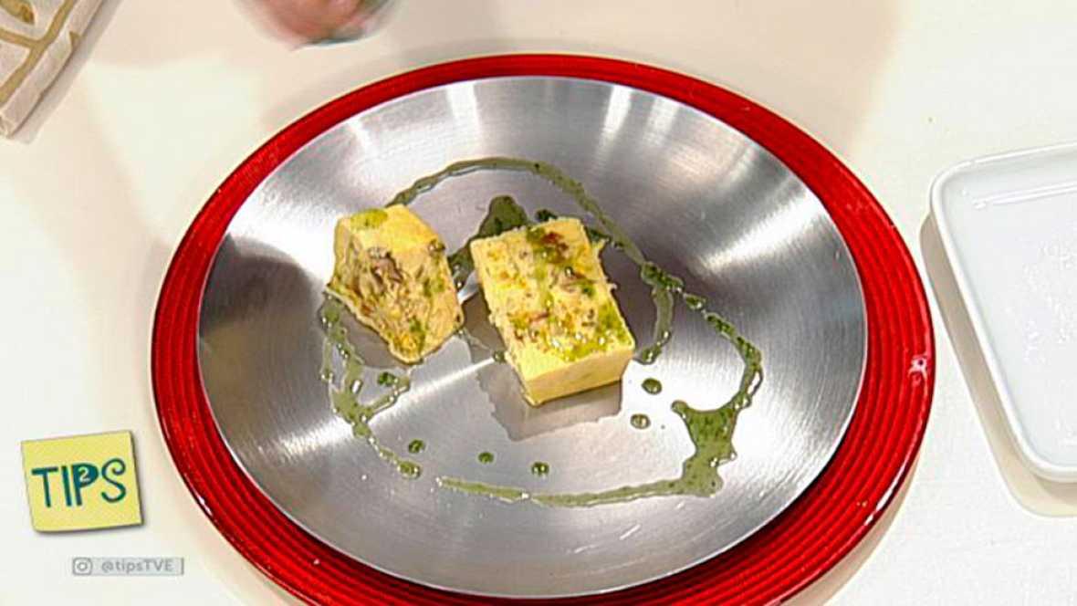 TIPS - Receta - Pastel de setas al azafrán