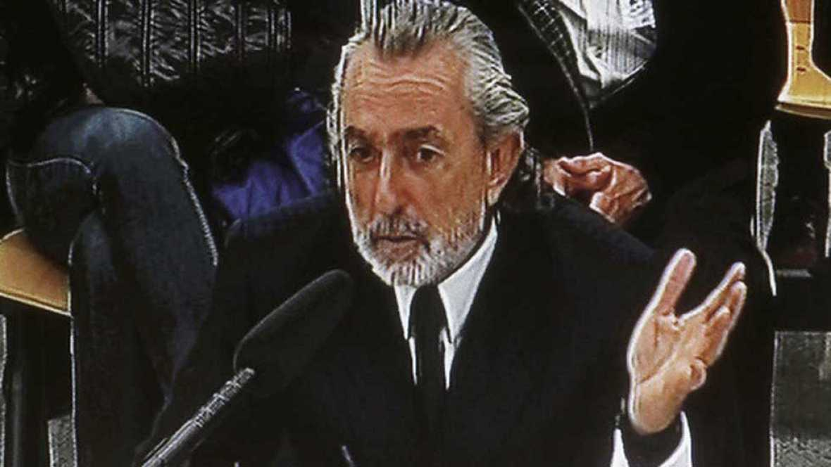 Correa no responde a las acusaciones e insiste en que se repartía las comisiones con Bárcenas