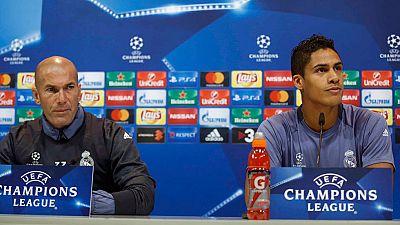 Zidane y Varane, incómodos con las críticas de Hollande a Benzema