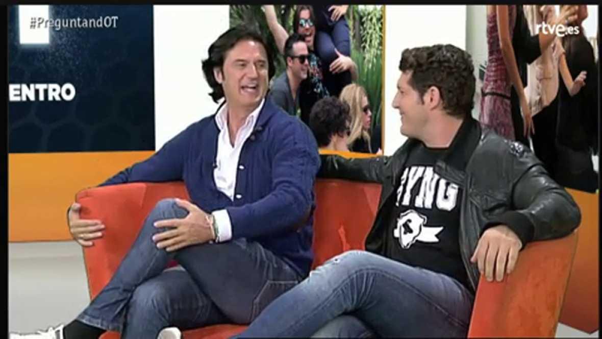 Videoencuentro: Manu Tenorio y Poty confiesan que se emocionaron con el estreno del reencuentro