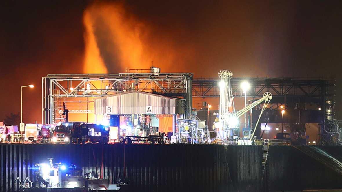 Al menos dos muertos en una explosión en una planta química de BASF en Alemania