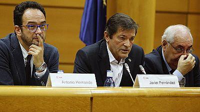 """Javier Fernández: """"No hay alternativa, hay disyuntiva: abstención o elecciones"""""""