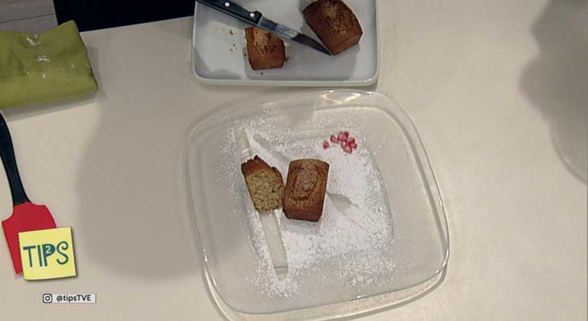 TIPS - Cocina - Plum cake de plátano