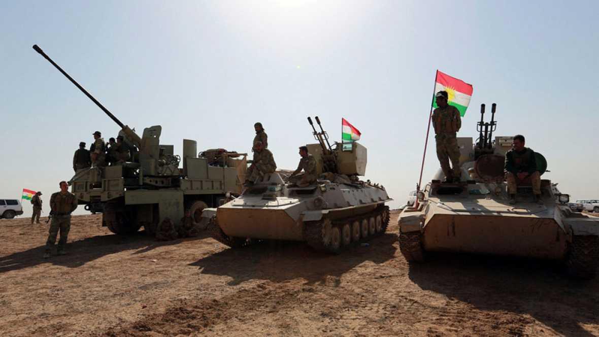 El ejército iraquí gana posiciones al Daesh en la batalla por Mosul
