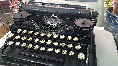 El paraíso de las máquinas de escribir