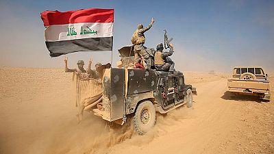 Las tropas kurdas e iraquíes ralentizan su avance en el tercer día de ofensiva para recuperar Mosul