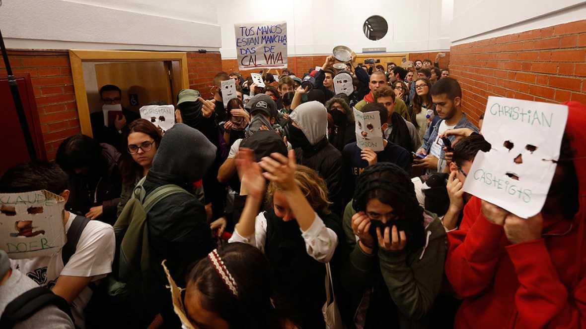 El portavoz de la gestora del PSOE señala a Podemos tras el boicot a González