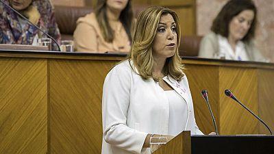 Susana Díaz reclama que la gobernabilidad de España se resuelva cuanto antes