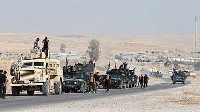 La reconquista de Mosul al EI llega a su tercer día con un avance ralentizado de la coalición