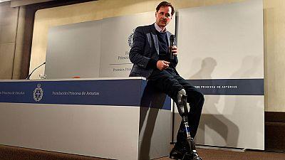 Hugh Herr, Premio Princesa de Asturias de Investigación, lucha para que sus prótesis tengan sensaciones propias