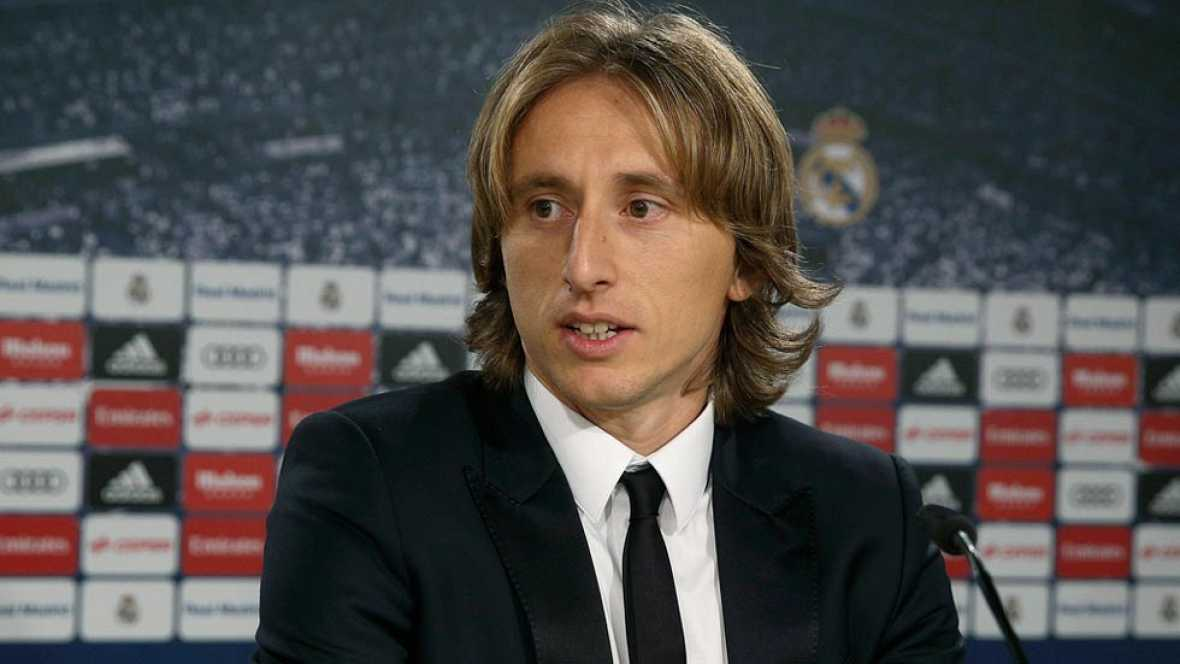 """Luka Modric: """"Sabía que iba a triunfar en el Madrid"""""""