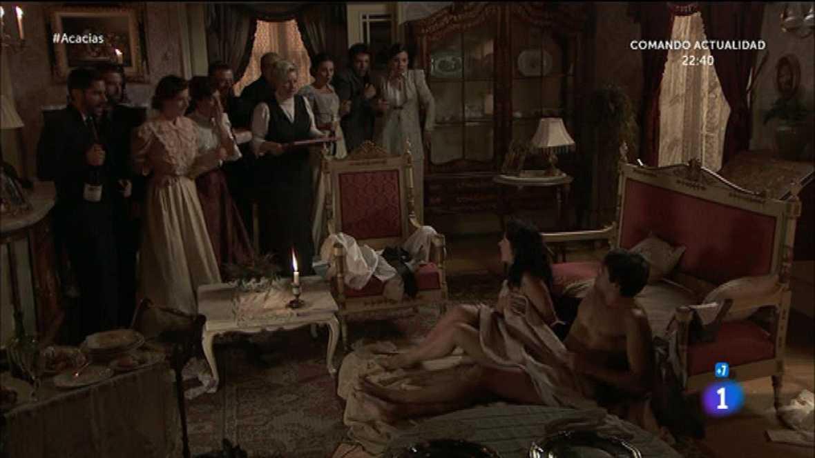 ¡Rosina y Liberto pillados en paños menores!