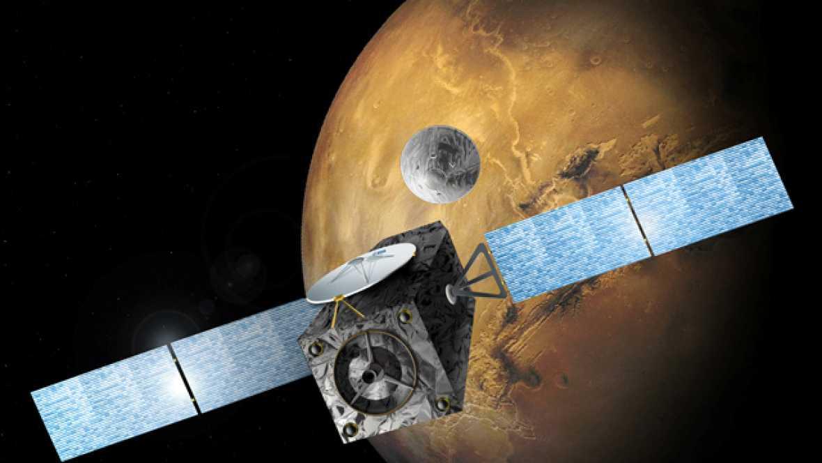 La sonda TGO de ExoMars se inserta con éxito en la órbita de Marte