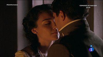 Elisa le propone a Ciro pasar su primera noche juntos