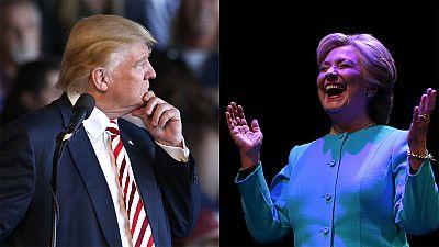 Último asalto: marcados por los ataques personales, Clinton y Trump pelean su tercer debate televisado