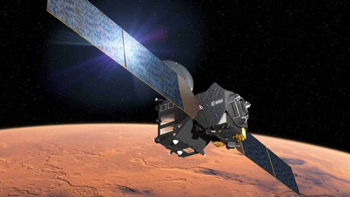 La sonda TGO se inserta en la órbita de Marte pero aún no se confirma el aterrizaje del módulo Schiaparelli