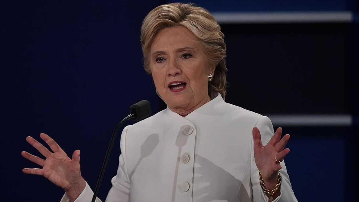"""Clinton defiende el aborto como una decisi�n de la mujer """"con su m�dico y su religi�n"""""""