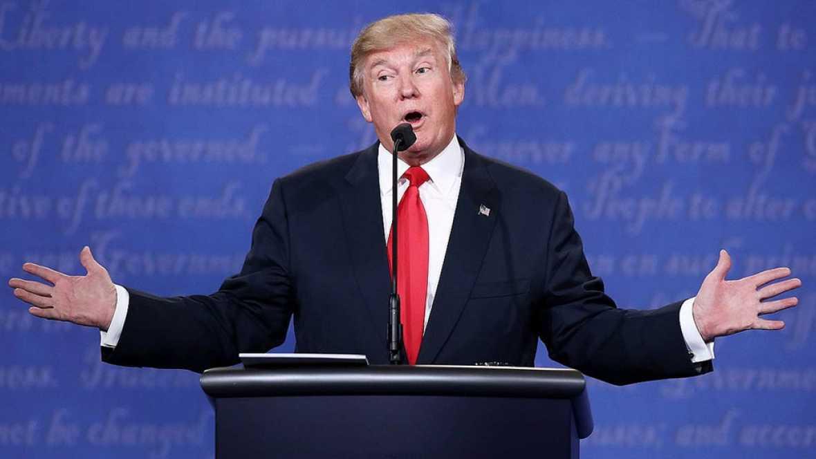 Trump no confirma si reconocerá las elecciones en caso de victoria de Clinton