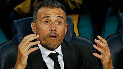 """Luis Enrique: """"Hemos aprovechado muy bien los errores del rival"""""""