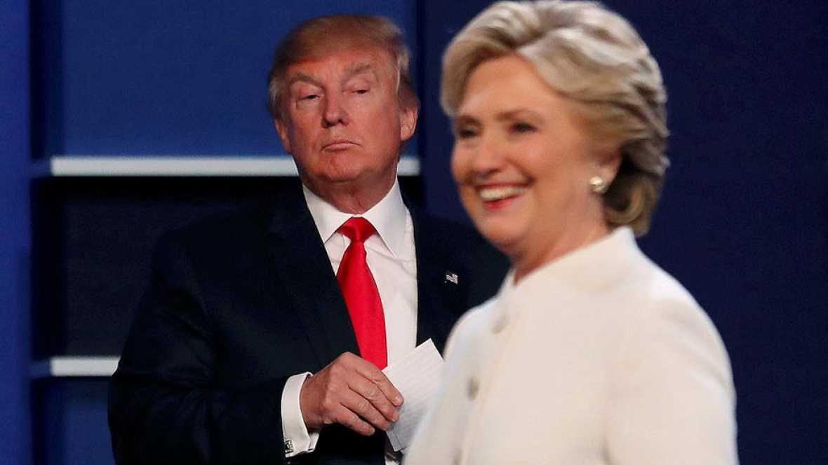 "Trump a Clinton en el tercer debate: ""Qu� mujer m�s desagradable"""