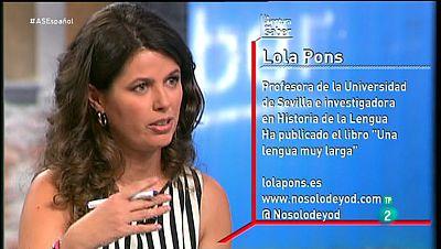 La Aventura del Saber. TVE. Taller de Espa�ol. Lola Pons