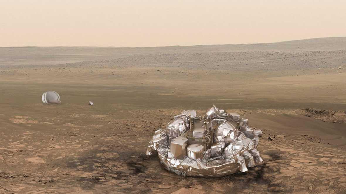 La Agencia Espacial Europea no sabe qué ha ocurrido con la nave de la misión Exomars que  debía posarse en Marte