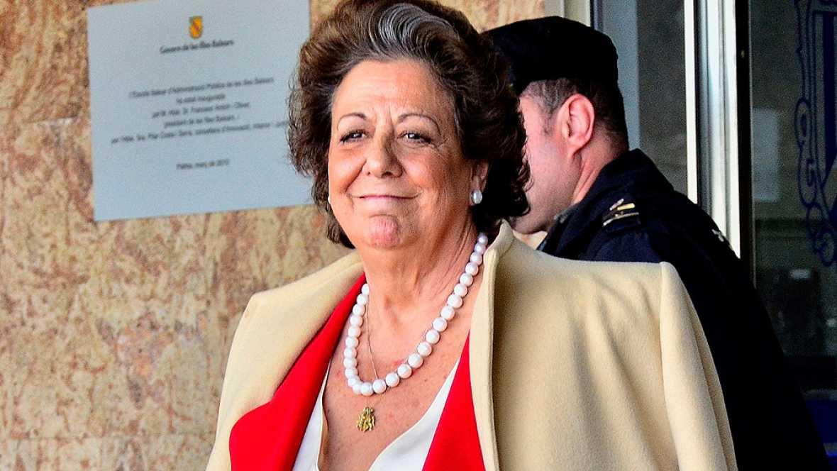 El Supremo cita a declarar a Rita Barberá el 21 de noviembre como imputada por supuesto blanqueo