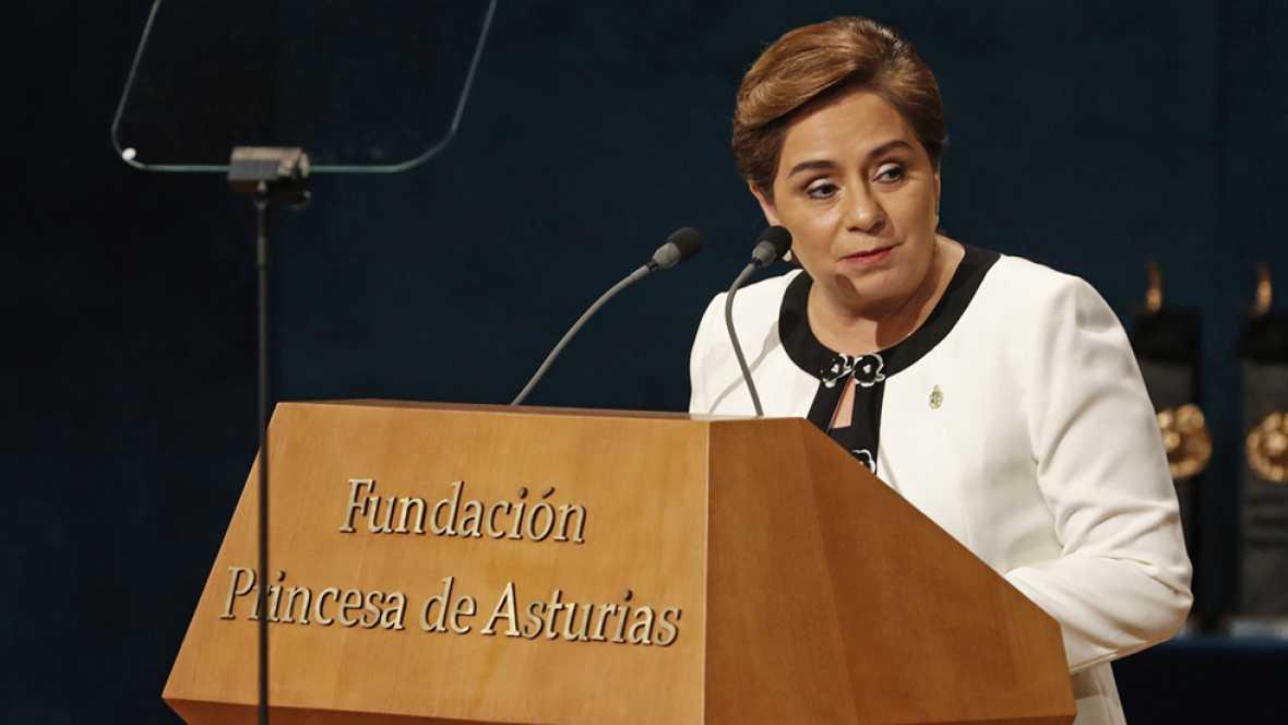 Discurso íntegro de Patricia Espinosa por el Premio Princesa de Asturias de Cooperación