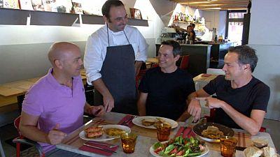De ruta gastron�mica con los hermanos Torres